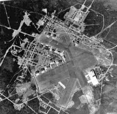 aerial view 1950